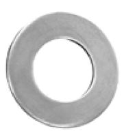 "Thrust Washer; 1-1/4"" OD x 1"" ID; Steel (89183)"